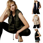 NE PEOPLE Womens Lightweight Sleeveless Anorak Style Vest S-
