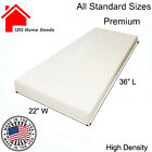 Upholstery Seat Foam Cushion Replacement High Density Per Sheet Standard Sizes <br/> BEST QUALITY FOAM STANDARD UPHOLSTERY
