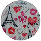 Andreas Silicone Trivets Kitchen Jar Opener Luv Paris France NEW Round Circle