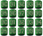 #80-99 Number Sweatband Wristband Baseball Lacrosse Soccer Green Camo Cmaouflage