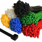 Cable Ties Strong Premium Tie Wraps Nylon Zip Ties Long All Sizes & Colours