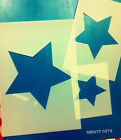 Star Wall Reusable Stencil for Home Decor Various sizes