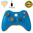 NEW BLUE Wireless Game Remote Controller for Microsoft Xbox 360 CONSLE