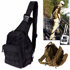 Men Chuck Shoulder Small Bag Crossbody Outdoor Sport Tactical Chest Backpack, US
