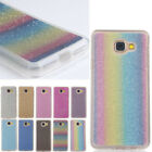 Fashion Rubber Soft TPU Glitter Bling Soft Back Cover For Various Phone