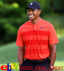 2017 Tiger Woods *TW Zonal Cooling Stripe* Golf Shirt 833171-852 > PICK SIZE