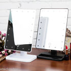20LED Touch Screen Makeup Mirror Tabletop Vanity Light Up Mirror Cosmetic Beauty
