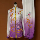 Silk Embroidery Women's Tai chi Uniform Kung fu Martial arts Wing Chun Clothing