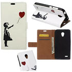 JL For Samsung 2017 Series Pattern Leather Wallet ID Card Case Stand Cover Skin