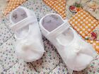 NIB Girl Shoes 4ORGAS Baptism Christening Organza Little Things CLOSEOUT