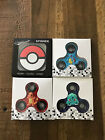 Pokemon 4-Pack Complete Set Fidget Spiner Hand Spinners EDC Focus Toy Kids