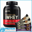 Optimum Nutrition On 100% Whey Protein 2.27kg 5lb + PhD Stainless Steel Shaker