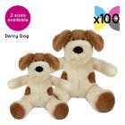 100 Darcy Dogs Cuddly Soft Toys Without Clothing Blank Plain Plush Gifts Bulk