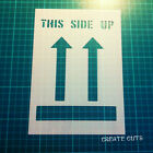 This Side Up Fragile reusable STENCIL Shipping Packaging Marking Label Signs