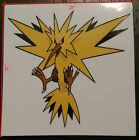 Pokemom Zapdos Vinyl Decal Sticker High Quality Car Truck Multi Use (2 Pack)