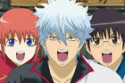 Poster Silk GINTAMA Sakata Gintok Japan Anime Boy Room Club Wall Print 30