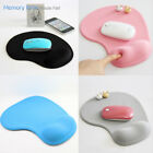 Gel Mouse Mat Pad With Rest Wrist Comfort Support Laptop PC Anti Slip