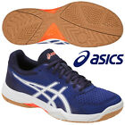 ASICS Japan Men's GEL TASK Low Volleyball Shoes TVR718 2017 Blue White