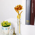 Romantic 24K Golden Rose Flower Wedding Festive Party Gift Without Box