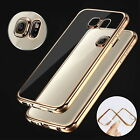 NEW Clear Crystal TPU Phone Case Cover for Samsung Galaxy S7 Edge Slim