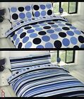 Twin Set - Two Double Bed Reversible Duvet Covers Pillowcase Set - BNIP bedding