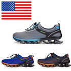 Mens Big Size Light Running Shoes Shock Absorbing Non Slip Mesh Casual Shoes US