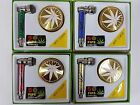 NEW SMOKING  METAL PIPE WITH GOLD  GRINDER (3 PART)& 5 PIPE SCREENS GIFT SET