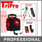 3D 1x360° Self Auto Leveling Rotary Cross Laser Level Tripod Receiver Detector