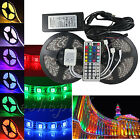 LED strip RGB waterproof 5050 SMD Flexible Strip Light 1-30m 44keys Remote power