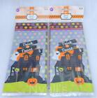 Wilton 40 count Trick or Treat Halloween Cello Bags 4x9.5 Haunted House Mansion