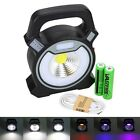 Kyпить 10W LED COB Rechargeable Mini Work Camping Outdoor Light Lamp Battery +USB Cable на еВаy.соm