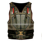 Bane Vest Dark Knight Rises Military Tactical Tom Hardy Costume Leather Vest