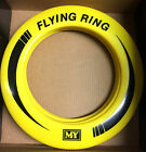 NEON COLOURED FLYING FRISBEE RING FLYER SUMMER PLAY NEW PET OUTDOOR DISC TOYS