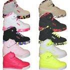 Внешний вид - Boys Girls Kids Fila Vulc 13 Mashup Brights Neon Mid Sneakers Shoes 10.5-7 PS GS