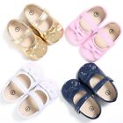 Newborn Baby Girl Summer Kids Shoes Soft Sole Crib Prewalker Toddler Anti-Slip
