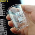 5ML--5000ML Chemistry Laboratory Glass Beaker Beaker Borosilicate Measuring
