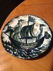 EXTREMELY RARE LOMONOSOV ST. PETERSBURG HAND PAINTED DECORATIVE PLATE FROM RUSSI