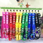 Cute 6/12 PCS Dog Collars Pet Cat Collar With Bell Necklace Buckle Wholesale Hot