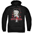 Betty Boop Classic Kiss Pullover Hoodies for Men or Kids $31.56 USD