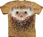 Big Face Hedgehog Animal T Shirt Adult Unisex The Mountain