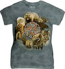 The Mountain Ladies Adult Animal Spirit Circle T Shirt