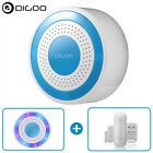 Digoo DIY Wireless Home Security Alarm Standalone Siren Host PIR Detector Remote