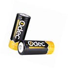 Odec 26650 Battery, 5000mAh Li-ion Rechargeable Battery for LED Torch, Flashligh