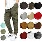 Внешний вид - MEN'S TWILL DROP CROTCH JOGGER PANTS SIZE S-5XL VICTORIOUS *18 COLORS BIKER