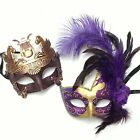 Rome Warrior Masquerade & Venetian Feather Prom Costume Party Masks