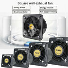 Wall-mounted Ventilation Extractor Exhaust Fan For Kitchen Bathroom Toilet POP
