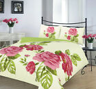 ALYSSA Floral duvet cover set bedding double king single poly cotton Gift