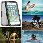 100% Genuine Waterproof Full Cover Shockproof Case For Apple Iphone 6 6S / 7 / 8