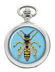 Wasp Full Hunter Pocket Watch (Optional engraving)