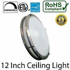 "12""/14"" Double Ring LED Ceiling Light 18W Flush Mount Dimmable 1380 Lumen"
